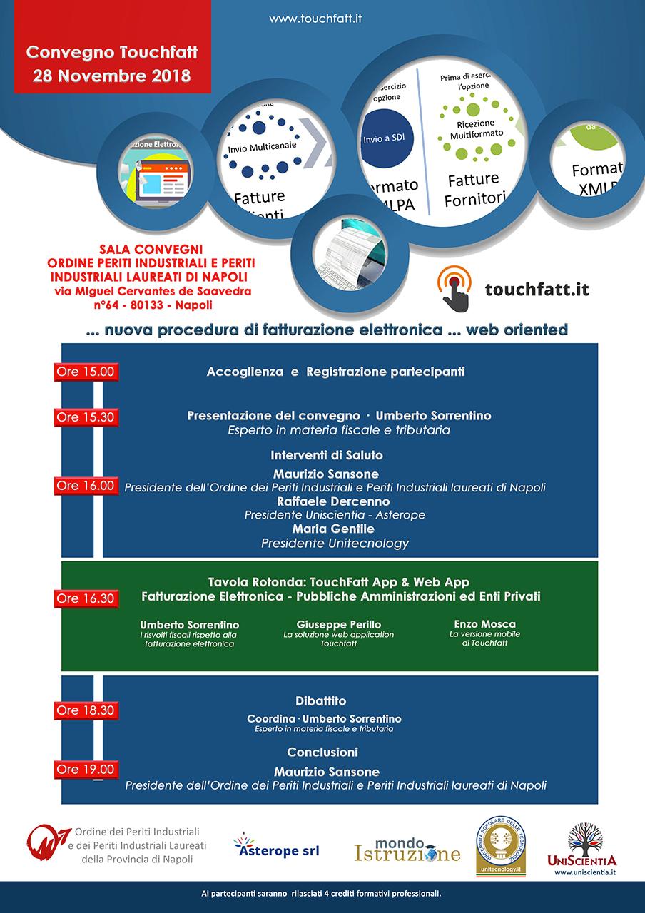 Convegno Fatturazione Elettronica Ordine dei periti industriali e dei periti industriali laureati di Napoli